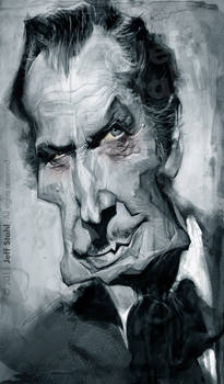 Vincent Price, by Jeff Stahl