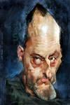 Jean Reno by Jeff Stahl