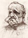 Vito Corleone, by Jeff Stahl