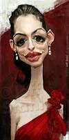 Anne Hathaway, by Jeff Stahl by JeffStahl