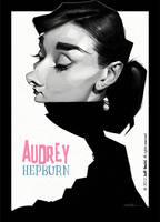 Audrey Hepburn, by Jeff Stahl by JeffStahl