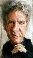 Harrison Ford, by Jeff Stahl