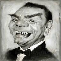 Ernest Borgnine (RIP), by Jeff Stahl by JeffStahl