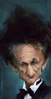 Sean Penn, by Jeff Stahl