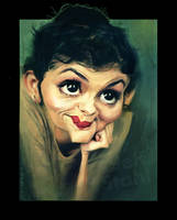 Audrey Tautou, by Jeff Stahl by JeffStahl