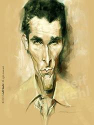 Christian Bale, by Jeff Stahl by JeffStahl
