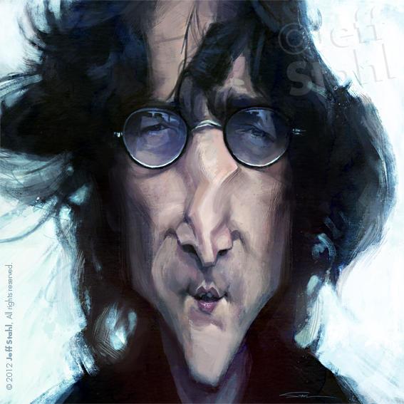 John Lennon, by Jeff Stahl