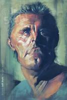 Kirk Douglas, by Jeff Stahl by JeffStahl