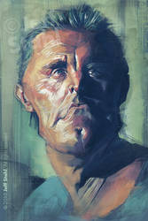 Kirk Douglas, by Jeff Stahl by JeffStahl
