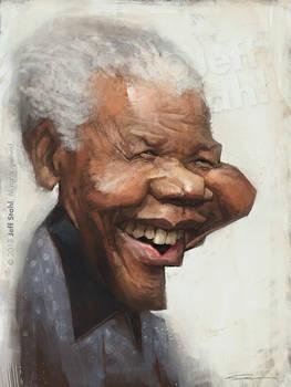 Nelson Mandela, by Jeff Stahl