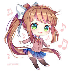 Just Chibi Monika [+Video]
