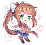 Just Chibi Monika [+Video]