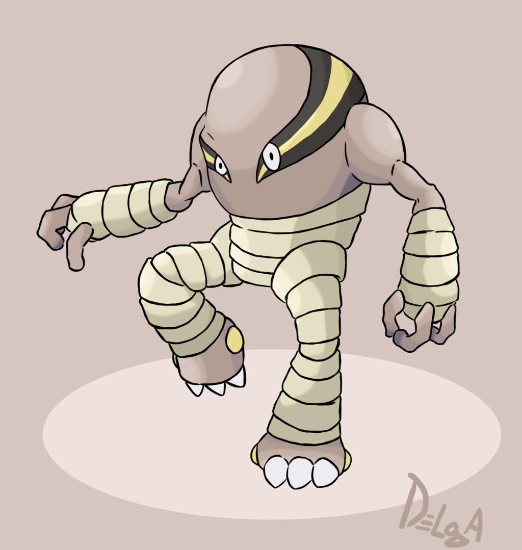 MEGA HITMONLEE - concept art (Pokemon-Forever) by ...