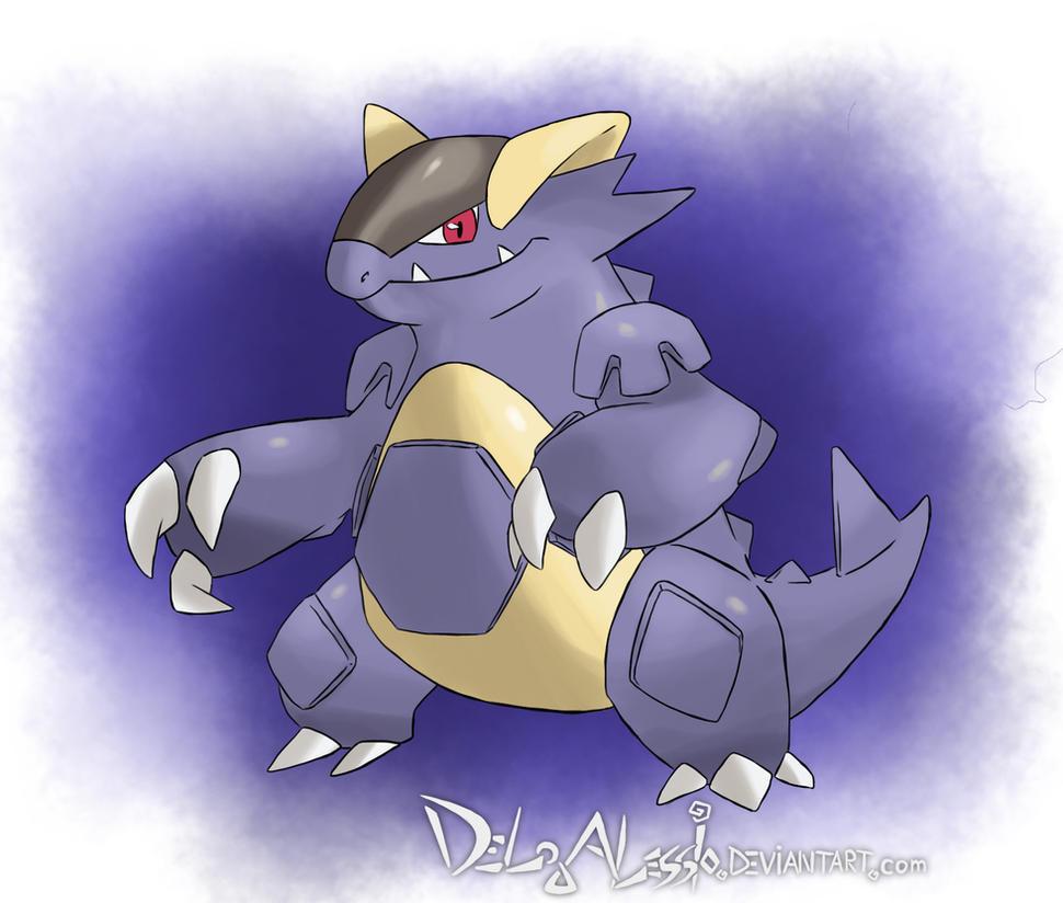 Male Kangaskhan Pokemon Images