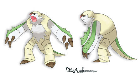 No shell Chesnaught by delgalessio