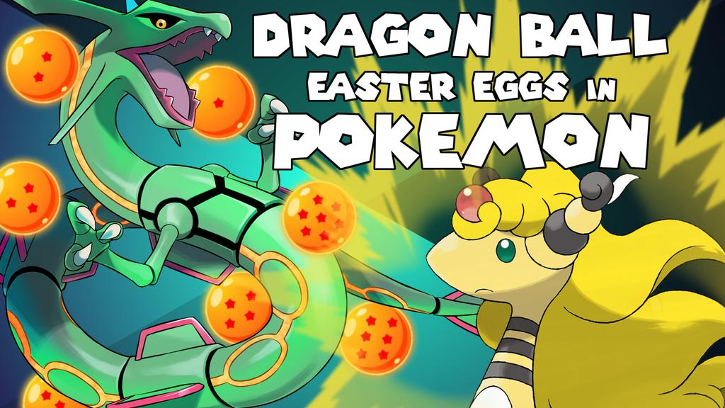 Dragon Ball Z Easter Eggs In Pokemon Youtube 611537977