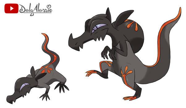 SALANDIT EVOLUTION - pokemon sun and moon