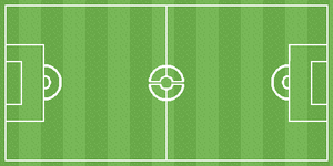 Pokemon Soccer Field