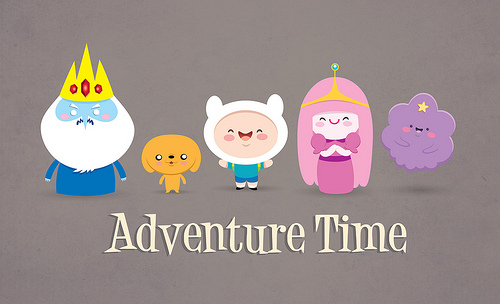 Chibi Adventure Time by bloodred4
