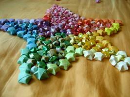 Rainbow Stars. by shrimpies4life