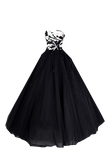Black Ball Gown 2 PNG