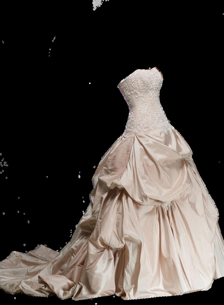 Ivory Wedding Dress PNG by Vixen1978
