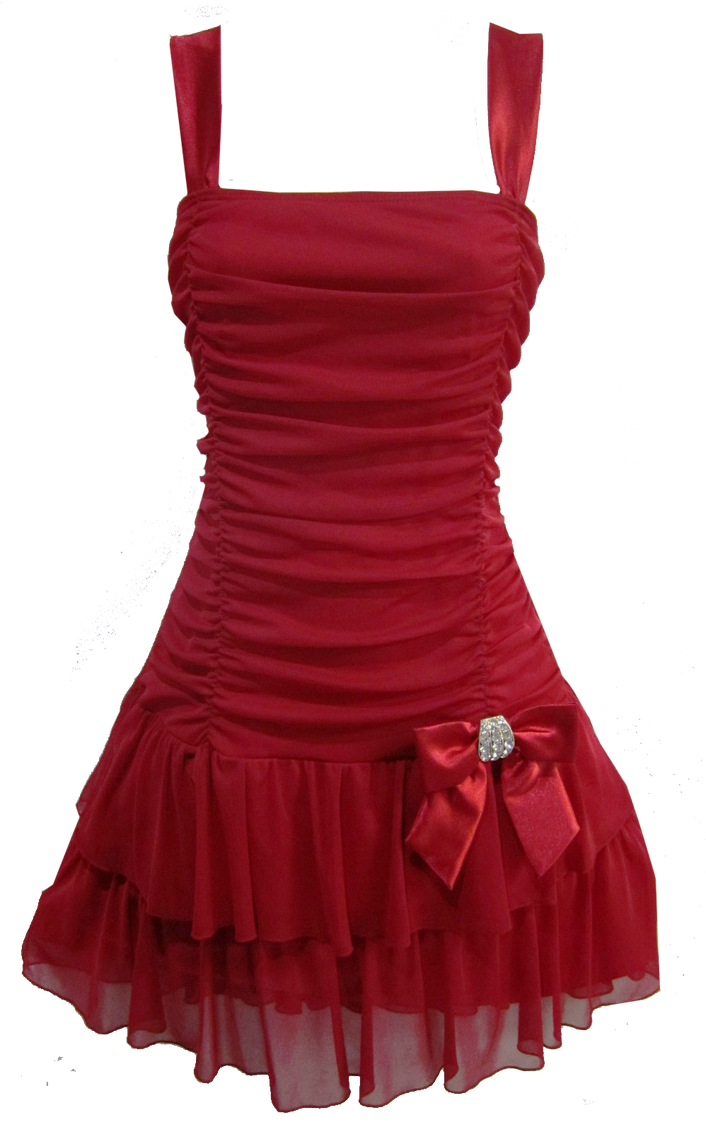 Flirty Short Red Dress PNG by Vixen1978 on DeviantArt