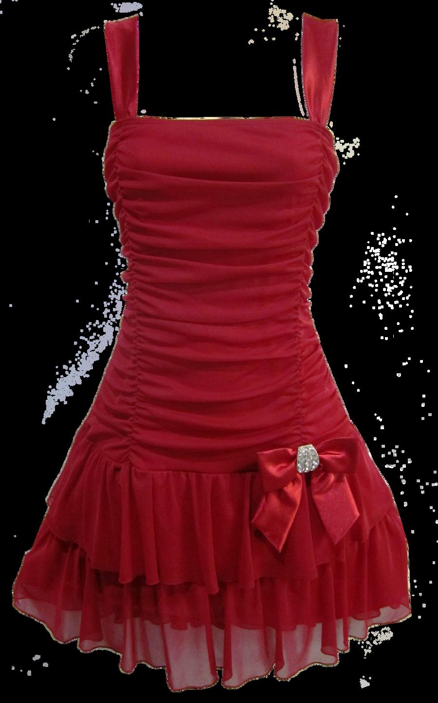 Flirty Short Red Dress PNG by Vixen1978 on DeviantArt