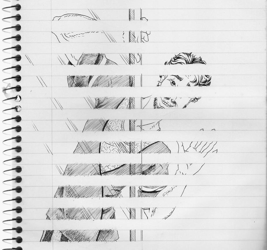 Sketchbook Challenge by JadeOfMaar