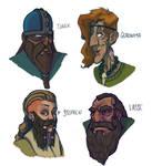 Beards Cast by FlipKasper