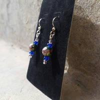 First Bloom of Spring - Beaded Earrings
