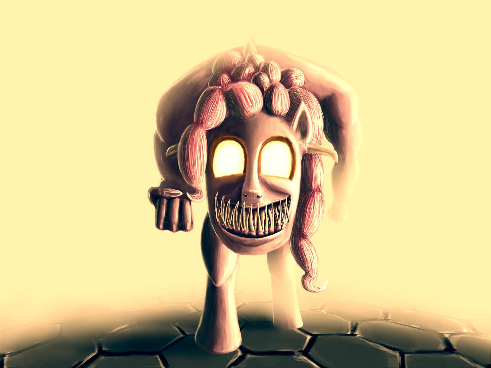 Pinkie Demon by DorkyDoughnut