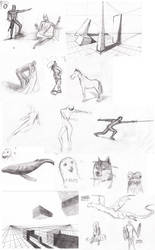 Sketches fortnightly #02 by DorkyDoughnut