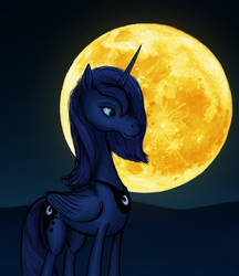 She is the Night by DorkyDoughnut