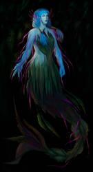 Cornflower Mermaid by Just-Saya