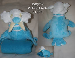 Walrein Plush by Katy-A