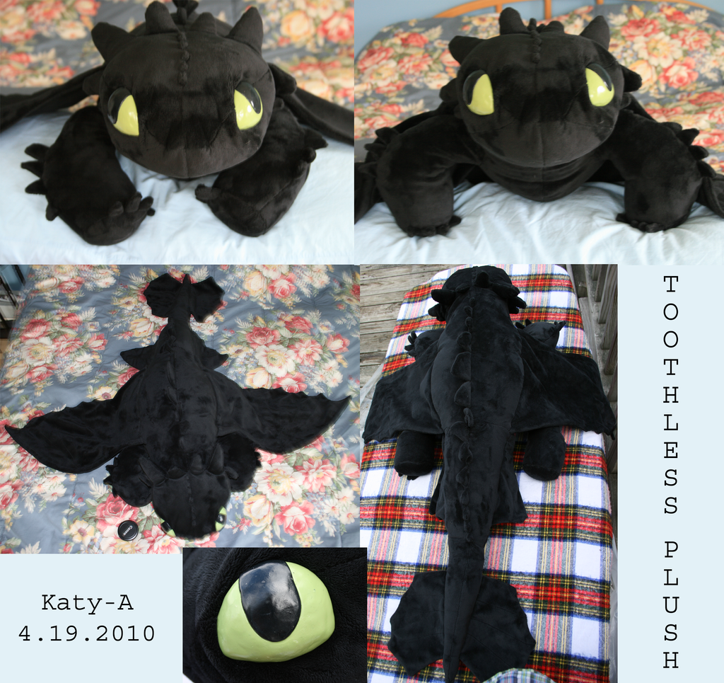 Toothless Plush By Katya