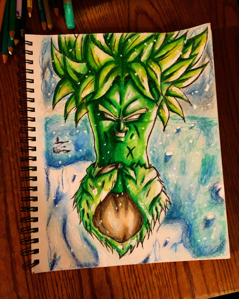 Broly the legendary super broccoli  by xprotector10