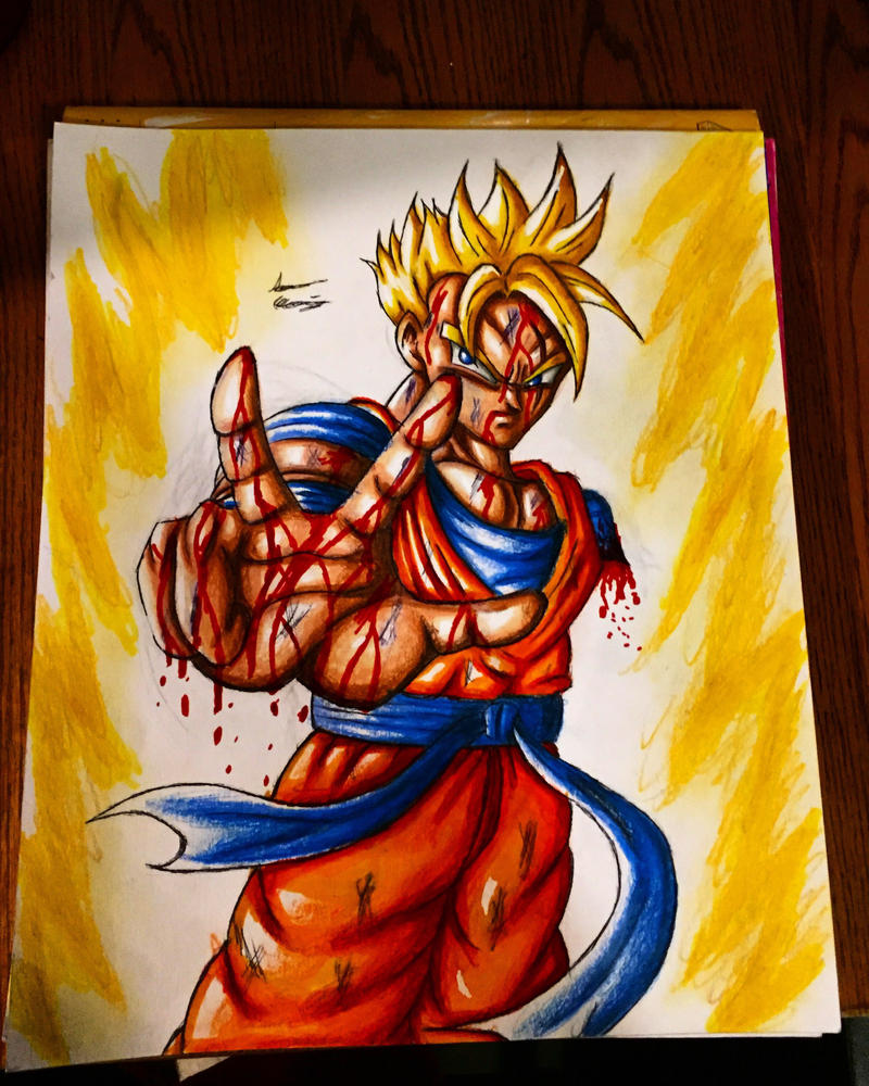 Super gohan by xprotector10