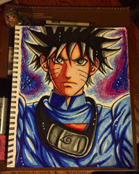 Ultra instinct omen grand priest Naruto  by xprotector10