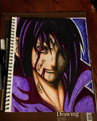 Majin Sasuke  by xprotector10