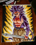 Ssj4 trunks  by xprotector10