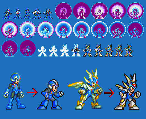 Megaman Zero Copy X Armor Copy x progress by cyros lMegaman Zero Copy X