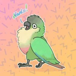 Henlo! by MatchiiTea