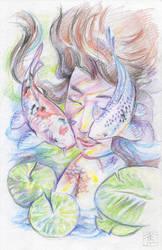 Pisces #1 sketch