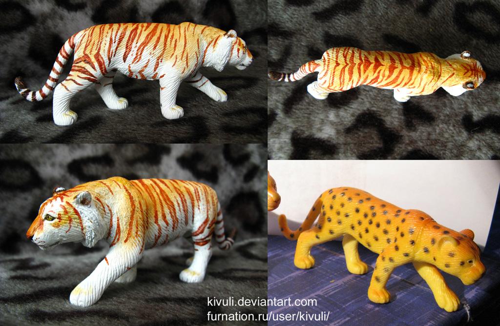 Golden tiger by Kivuli