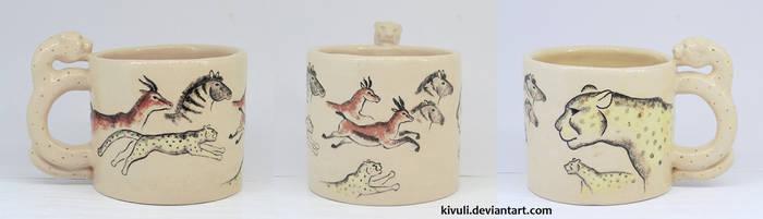 Cheetah Mug by Kivuli
