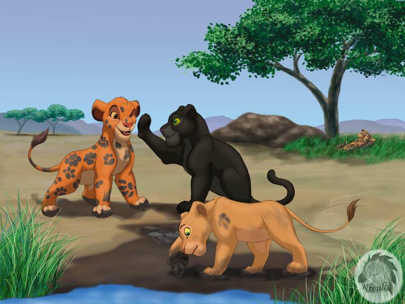 картинки из короля льва 1-2