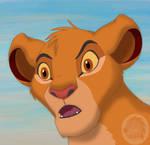 Simba wondering
