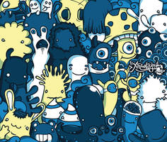 Monster Family by ExtremelyShane